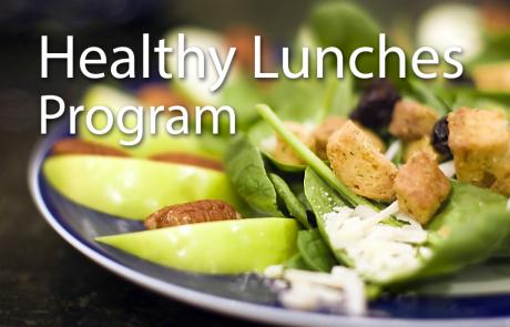 Healthy Lunch Program – October