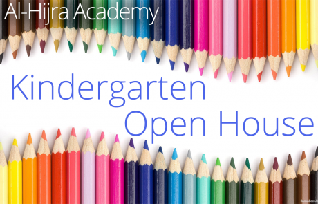 2015 Al-Hijra Kindergarten Open House!