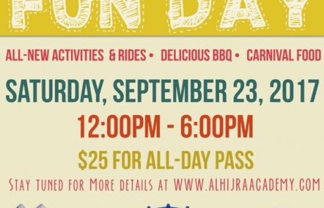 Annual Al-Hijra Fun Day!